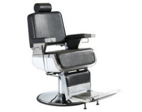 heavy-duty durable black reclining hydraulic men hairdressing  barber chairs