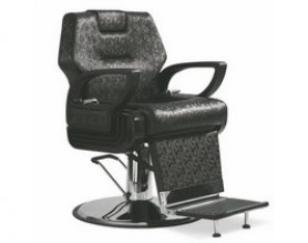 Bronze salon styling barber chairs reclining men hair cutting chairs