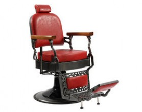 Koch Antique Comfortable Tall Barber Chair