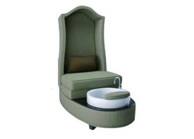 High back foot spa massage sofa pedicure chair manicure bench