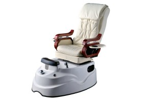 Luxury white foot massage whirlpool spa pedicure chair with bowl and jet