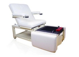 Popular manicure pedicure chairs foot spa massage sofas salon furniture with bowls in the USA