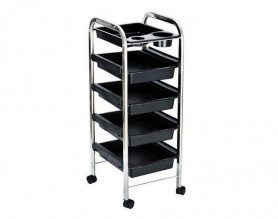 Australia Spa pedicure trolley cart salon rolling tray beauty hairdressing equipment on wheels