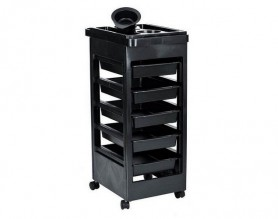Canada Hair Salon Instrument Storage Cart Rolling Trolley Equipment Rolling Storage Trolley Beauty Tools on wheels