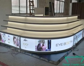 Customized Optical Eyewear Showcase Glasses Shop Display Sunglasses Counter Advertising Design