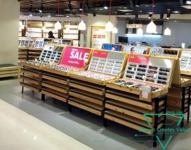 Store Furniture Wooden Eyewear Showcase Counter  Optical Glass Sunglasses Display Cabinet