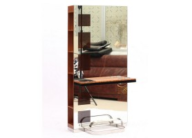 Barber shop hairdressing mirror salon styling station