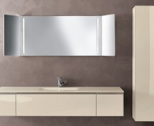 wood double sink basin bathroom vanity pvc cabinet