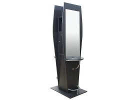 Chagall Double-Sided Salon Cabinet Styling Mirror Station