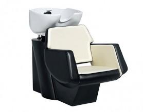 New Hair salon backwash chairs shampoo units