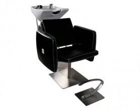 Adjustable Hair Wash Unit Station Salon Shampoo Chairs