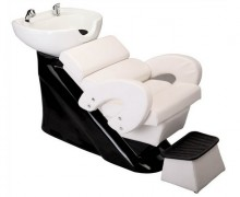 Lay Down Hair Washing Chairs Salon Shampoo Units