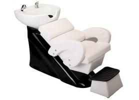 Lay Down Hair Washing Chairs Salon Shampoo Units