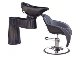 Portable Salon Hair Washing Units Shampoo Chairs with Sink