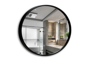 Round decorative makeup mirror bathroom wall shaving mirrors