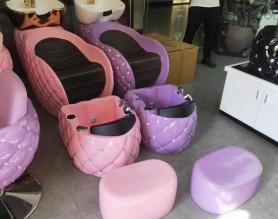Cheap salon furniture shampoo chair hair backwash bed
