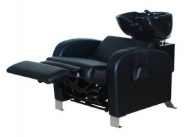 Luxury adjustable shampoo massage bed electric backwash chair