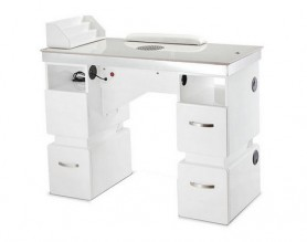 Factory nail station art dust collector manicure table