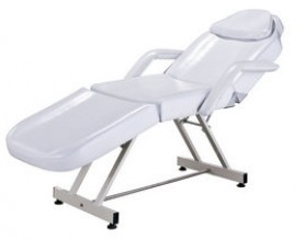 White beauty facial bed massage table spa equipment