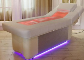 Electric Adjustable height dual purpose facial bed massage table