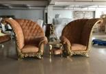 Club reception throne chair pedicure manicure sofa single princess salon stool