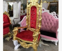 Nail Salon Couch Sofa Waiting Reception Spa Client King Throne Chairs