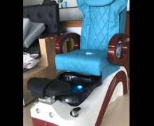 Luxury foot spa massage bench station nail pedicure chairs
