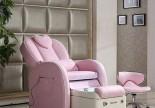 Modern nail salon back massage station spa foot manicure pedicure chair