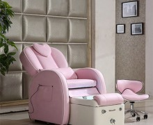 Modern nail salon back massage station spa foot manicure pedicure chair