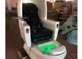 Made in China foot spa massage bench nail station salon equipment pedicure chairs