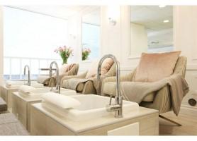 Beauty Salon Furniture European Style Hot Sale SPA Pedicure Sofa With Bowl