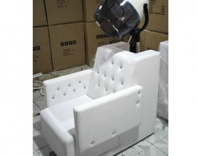 European micro mist steamer sofa barber dryer chair hairdressing styling station