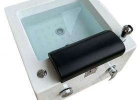 Hot Selling Acrylic Footbath Square Pedicure Sink Foot Spa Bowl