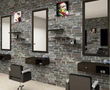 Hairdresser barber shop station mirrors salon furniture beauty