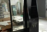Classic Customize Black Beauty Hairdressing Salon Styling Mirror Stations