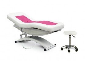 Luxury Salon Furniture Spa Electric Beauty Massage Table Treatment Bed Podiatry Cosmetic Facial Chair