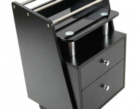 Beauty Salon Nail Pedicure Medical Tools Storage Cart Cabinet Facial Manicure Hairdressing Trolley Barber Station