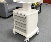 Modern Beauty Salon Manicure Nail Spa Pedicure Tools Storage Cart Cabinet Drawers Facial Hairdressing Trolley Styling Station