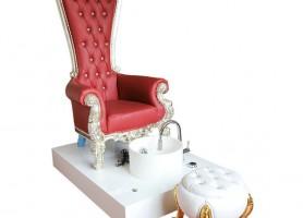 Amazon Beauty Nail Salon Bowl Station High Back Foot Tub Spa Massage Sofa Queen Throne Pedicure Chair