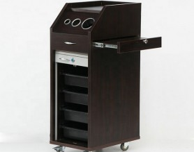 Hairdressing Trolley Styling Station Spa Facial Beauty Nail Pedicure Medical Tools Storage Cart Cabinet Drawers