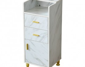 Spa Facial Beauty Nail Pedicure Medical Tools Storage Cart Cabinet Drawers Hairdressing Trolley Barber Station