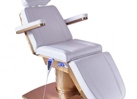 Electric Motors White Beauty Treatment Massage Table Lift Facial Podiatry Tattoo Chair Cosmetic Bed