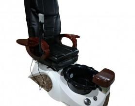 China Salon Manicure Sofa Spa Recline Foot Pedicure Station Nail Pedicure Massage Human Touch Bowl Chair
