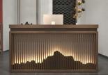 IKEA spa manicure pedicure bar club customer checkout cashier counter beauty table front salon reception desk