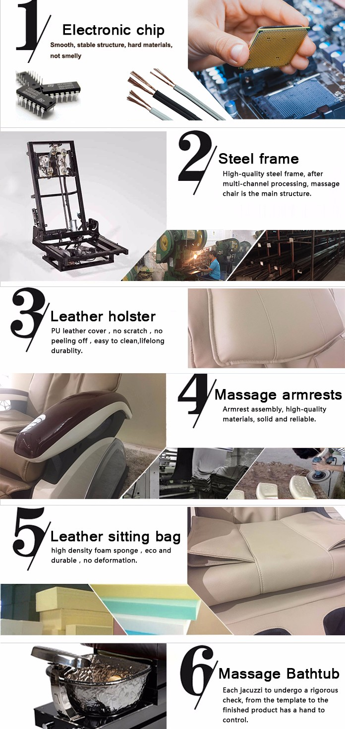 Salon Pedicure Chair Ebay >> Top Quality Leather Foot Massage Station Pedicure Chair For