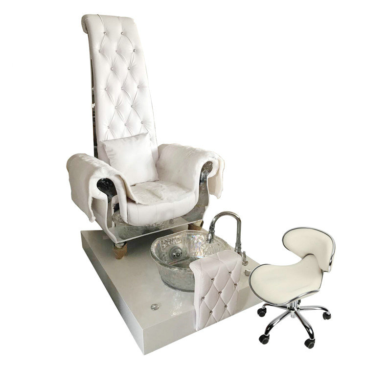 High Back Queen Throne Chair King Pedicure Chairs Used