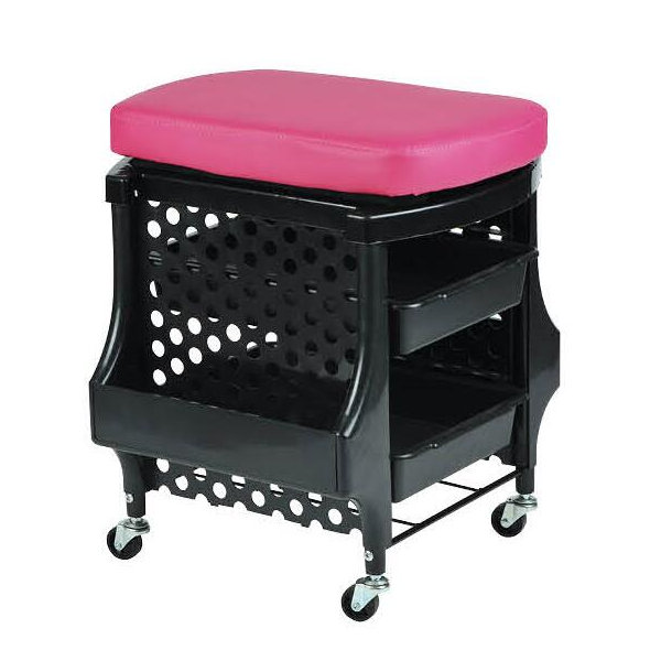 Phenomenal Portable Manicure Station Pedicure Stool Nail Trolley Salon Caraccident5 Cool Chair Designs And Ideas Caraccident5Info