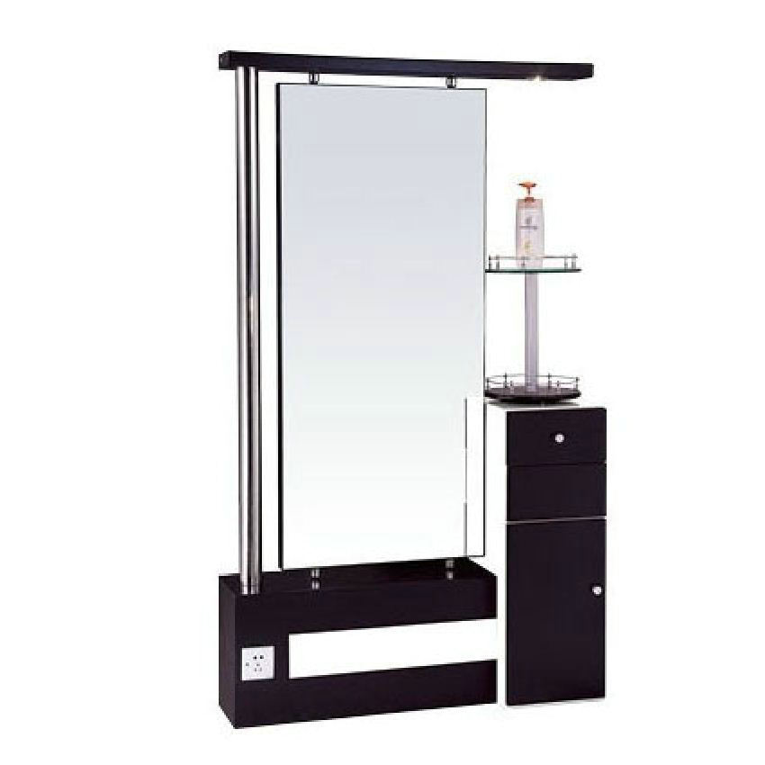 Double Sided Glass Styling Station Salon Makeup Mirror