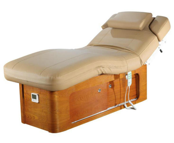 Luxury electric massage table facial bed spa equipment | China Beauty Salon Equipment Supplier
